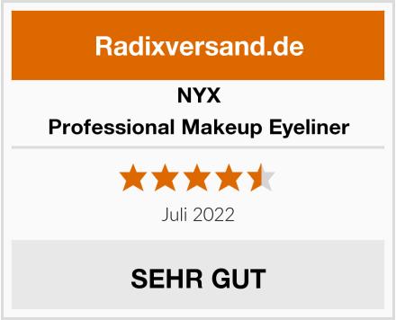 NYX Professional Makeup Eyeliner Test
