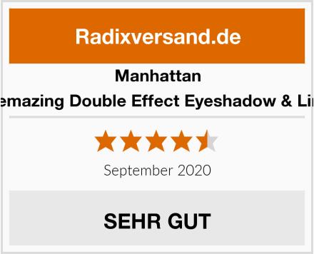 Manhattan Eyemazing Double Effect Eyeshadow & Liner Test