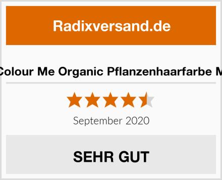 Radico Colour Me Organic Pflanzenhaarfarbe Mahagoni Test
