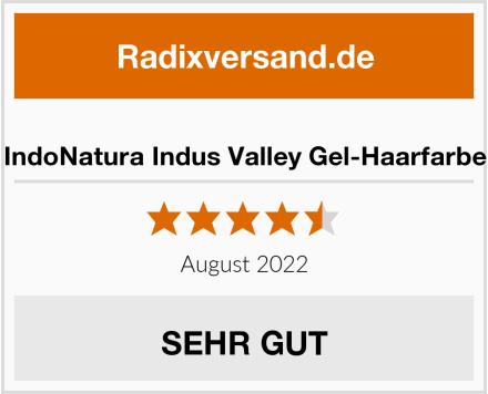IndoNatura Indus Valley Gel-Haarfarbe Test