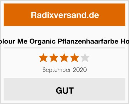 Radico Colour Me Organic Pflanzenhaarfarbe Honig-Blond Test