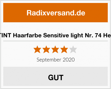 SANOTINT Haarfarbe Sensitive light Nr. 74 Hellbraun Test
