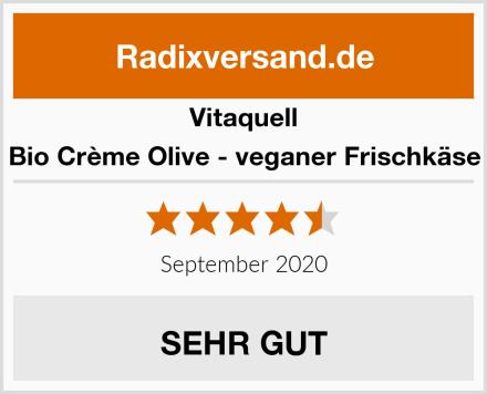 Vitaquell Bio Crème Olive - veganer Frischkäse Test