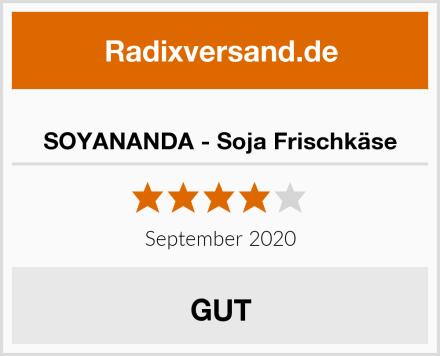 SOYANANDA - Soja Frischkäse Test