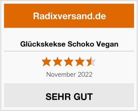 Happy Glückskekse Schoko Vegan Test