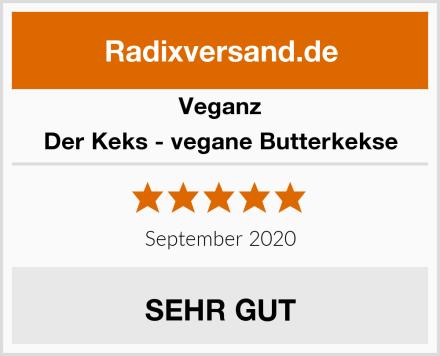 Veganz Der Keks - vegane Butterkekse Test