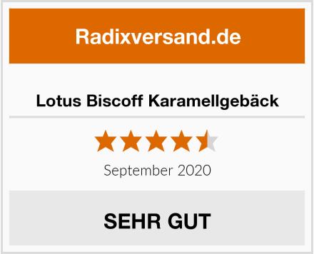 Lotus Biscoff Karamellgebäck Test