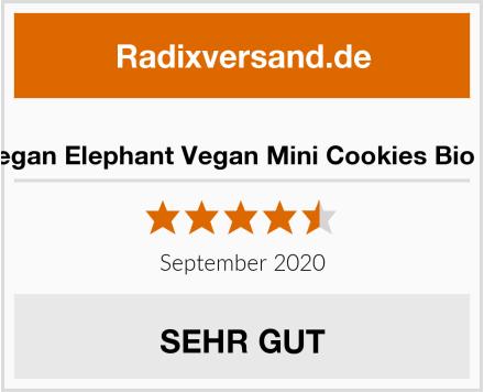 The Vegan Elephant Vegan Mini Cookies Bio Kekse Test