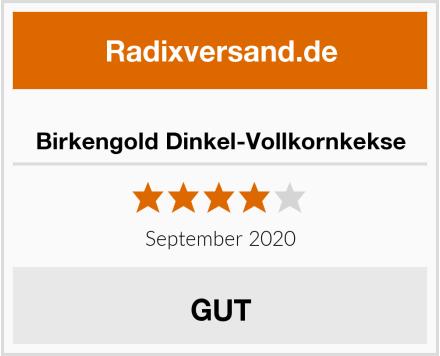 Birkengold Dinkel-Vollkornkekse Test