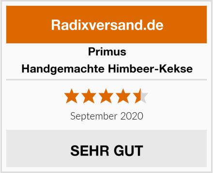 Primus Handgemachte Himbeer-Kekse Test