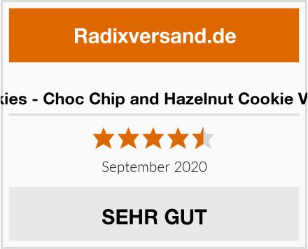 Rookies - Choc Chip and Hazelnut Cookie Vegan Test