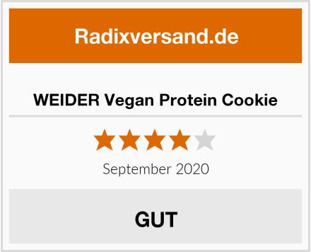 WEIDER Vegan Protein Cookie Test