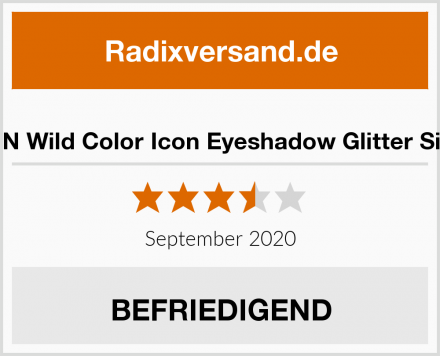 Wet N Wild Color Icon Eyeshadow Glitter Single Test