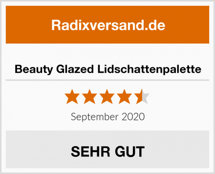 Beauty Glazed Lidschattenpalette Test