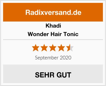 Khadi Wonder Hair Tonic Test