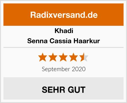 Khadi Senna Cassia Haarkur Test