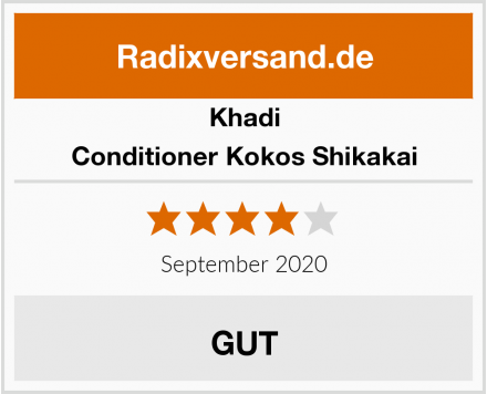Khadi Conditioner Kokos Shikakai Test