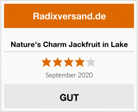 Nature's Charm Jackfruit in Lake Test