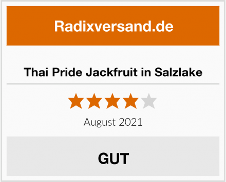 Thai Pride Jackfruit in Salzlake Test
