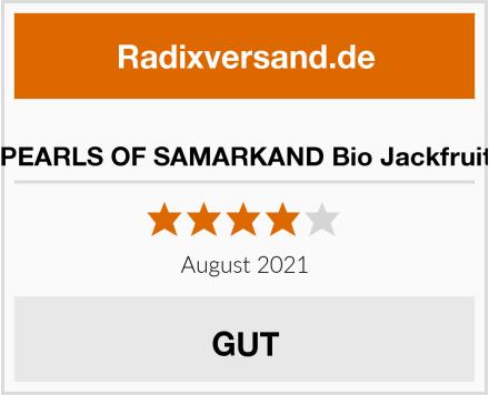 PEARLS OF SAMARKAND Bio Jackfruit Test
