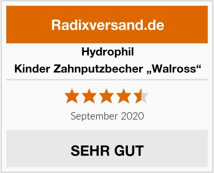 """Hydrophil Kinder Zahnputzbecher """"Walross"""" Test"""