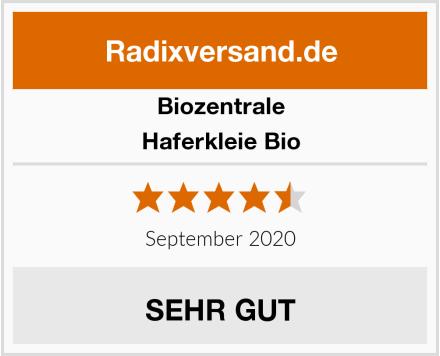 Biozentrale Haferkleie Bio Test