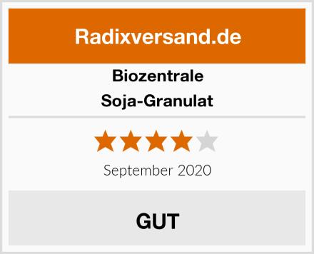 Biozentrale Soja-Granulat Test