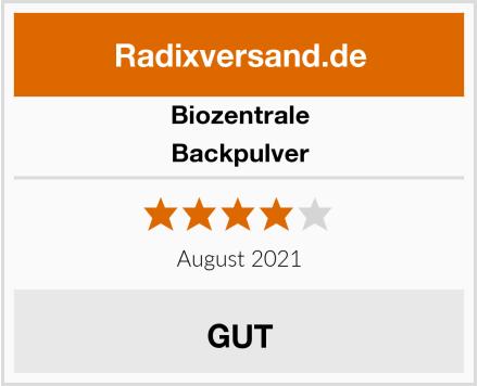 Biozentrale Backpulver Test