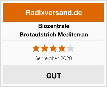Biozentrale Brotaufstrich Mediterran Test
