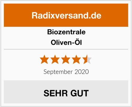 Biozentrale Oliven-Öl Test