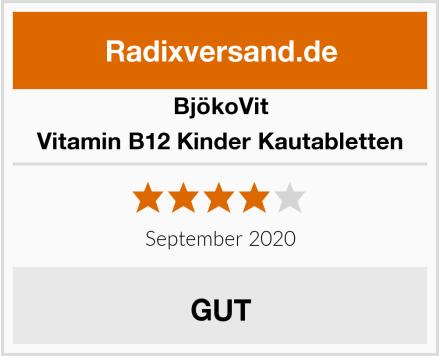 BjökoVit Vitamin B12 Kinder Kautabletten Test