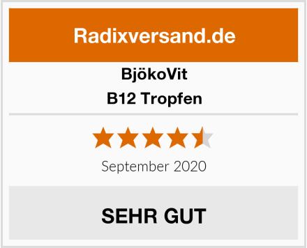BjökoVit B12 Tropfen Test