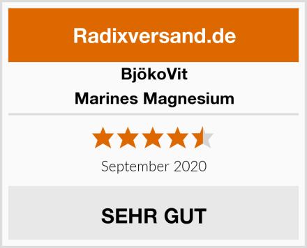 BjökoVit Marines Magnesium Test