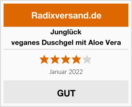Junglück veganes Duschgel mit Aloe Vera Test
