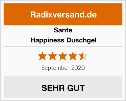 Sante Happiness Duschgel Test