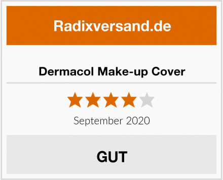 Dermacol Make-up Cover Test