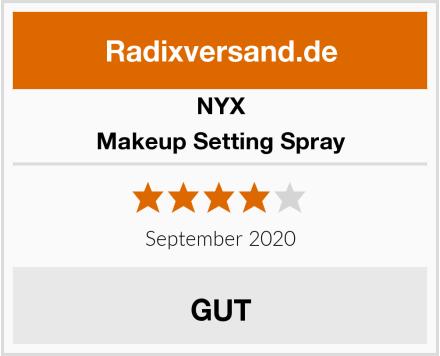 NYX Makeup Setting Spray Test