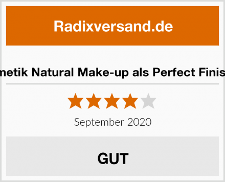 LOGONA Naturkosmetik Natural Make-up als Perfect Finish! Cremige Struktur Test