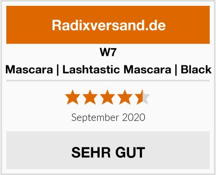 W7 Mascara | Lashtastic Mascara | Black Test