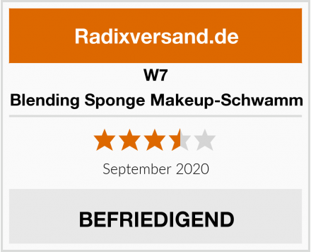 W7 Blending Sponge Makeup-Schwamm Test