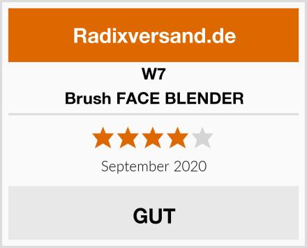 W7 Brush FACE BLENDER Test