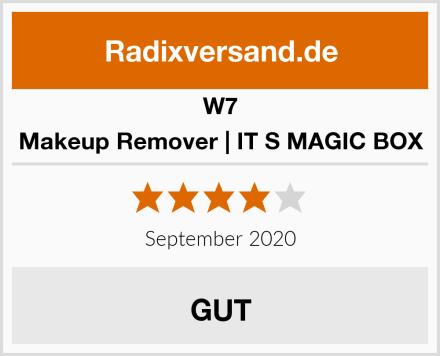 W7 Makeup Remover   IT S MAGIC BOX Test