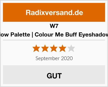 W7 Eyeshadow Palette   Colour Me Buff Eyeshadow Palette Test