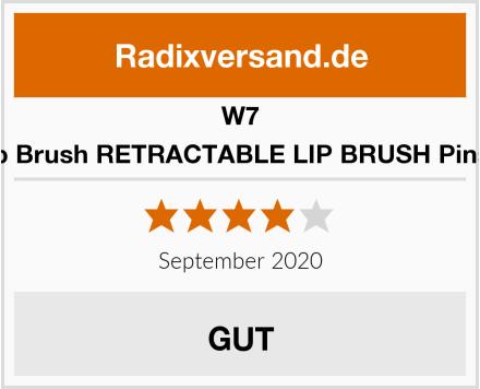 W7 Lip Brush RETRACTABLE LIP BRUSH Pinsel Test