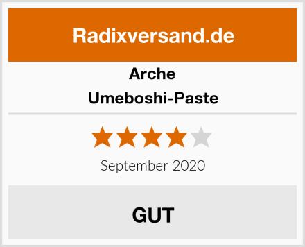 Arche Umeboshi-Paste Test