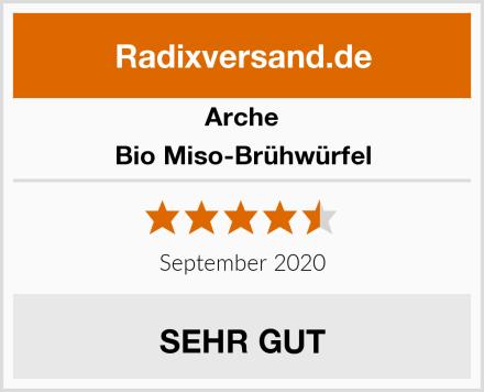 Arche Bio Miso-Brühwürfel Test