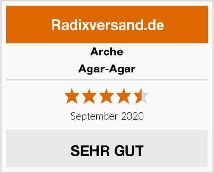 Arche Agar-Agar Test