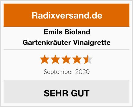 Emils Bioland Gartenkräuter Vinaigrette Test