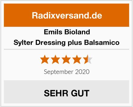 Emils Bioland Sylter Dressing plus Balsamico Test