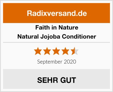 Faith in Nature Natural Jojoba Conditioner Test